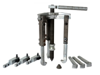 Three Jaw Manual Puller with extra holder and Chisel Jaw Set